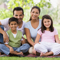 Your First Visit - Kitchener Dentist - Family Photo